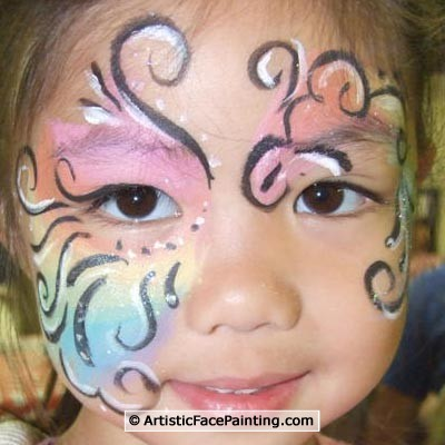 14 artistic face painting evanston kids birthday party fun for Face painting for parties