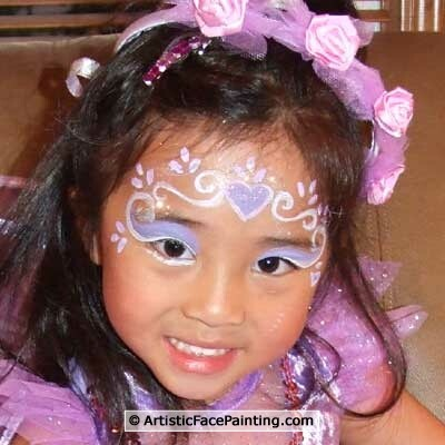 32 artistic face painting palatine fairy princess for Artistic cuisine palatine
