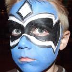 Boys Superhero Face Paint Designs Are Popular