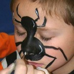 52-Artistic-Face-Painting-Chicago-Spider