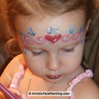 8 artistic facepainting chicago girls birthday party memories