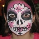 Pink Skull Eyes Open
