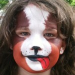 Puppy Dog Face Paint Design