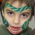 We Use Hypoallergenic Snazaroo Face Paint