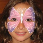 All Butterfly Face Painting Designs Are Unique