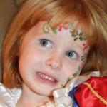 Face Painting at Princess Birthday Party