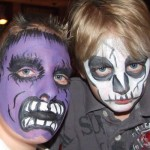 Boys Prefer Scary and Superhero Face Painting Ideas