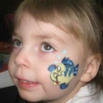 Cheek Art is Best For 1st Birthday Party Kids
