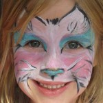 How Cute is this Kitten Face Paint Design??